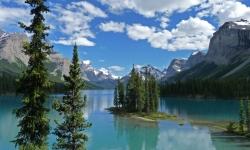 Spirit Island - Beautiful View Of Lake